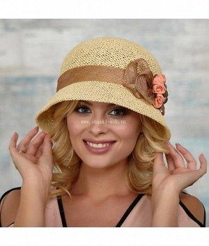 Татьяна 4-Бант Елочка обрез.поля Шляпа