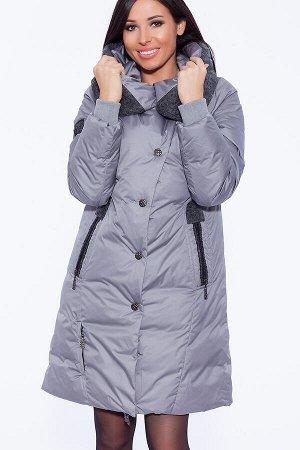 #39821 Пуховик (D'IMMA) Серый