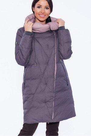 #39391 Пуховик (D'IMMA) Серый