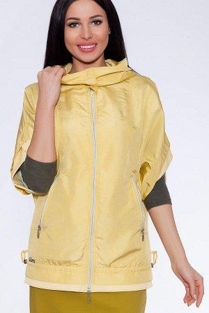 #22676 Куртка Желтый