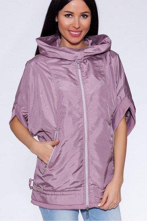 #22330 Куртка Пепельно-розовый