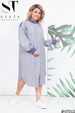 Платье-рубашка 47312