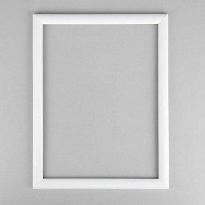 Рама для картин (зеркал) 30 х 40 х 2.6 см. дерево. Berta белая