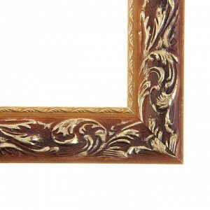 Рама для картин (зеркал) 18 х 24 х 4 см. дерево. «Версаль». цвет золотой