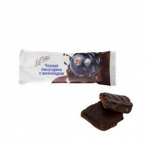 """Батончик """"La Conte de fess """"  «Черная смородина с шоколадом»"""