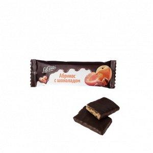 """Батончик """" La Conte de fess """" «Абрикос с шоколадом»"""