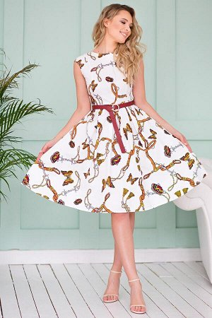 Платье из хлопка бабочки (П-33-3)