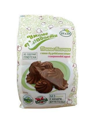 Печенье песочное с какао