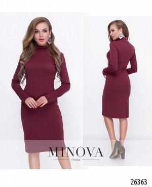 Платье №8591-бордо