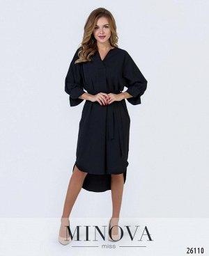 Платье №3011-черный