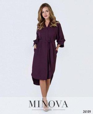 Платье №3011-бордо