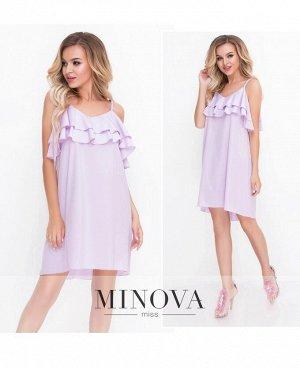 Платье №8582-сирень