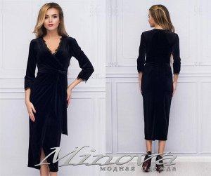 Платье №1041 (черный)