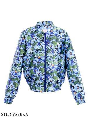 Куртка на девочку 122р на май
