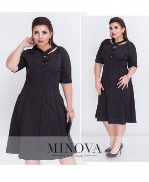 Платье №18-05-черный