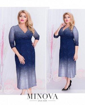 Платье №00259-серебро
