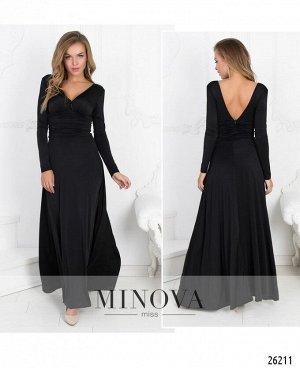 Платье №447-черный
