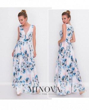 Платье №3094-2-пудра