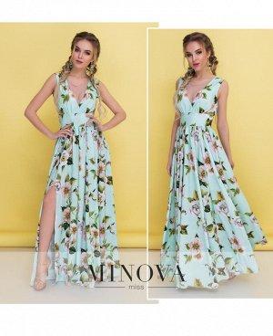 Платье №3094-мята