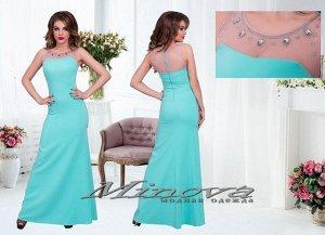 Платье №3070-ментол