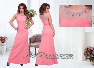 Платье №3070-коралл
