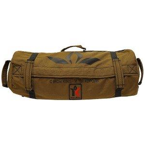 Сэндбэг Сэндбэг ( англ. Sandbag – мешок с песком) – это многофункциональный тренажер для силовых и функциональных тренировок. Представляет собой прочную, устойчивую к механическим повреждениям сумку с