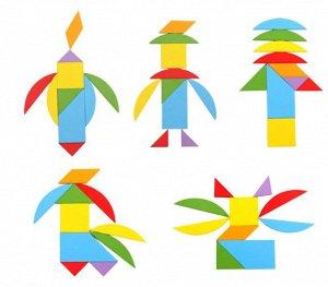 Детская головоломка 4 в 1 (Дерево)