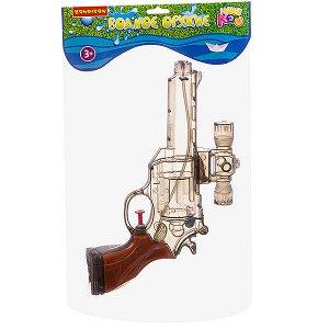 """Водный пистолет Bondibon """"Наше Лето"""", РАС 16,5х32х4 см, револьвер, арт. CH8016-1D."""