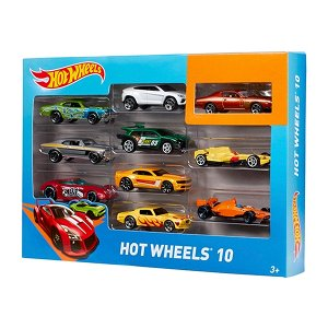 """Набор коллекционных машинок """"Hot Wheels"""" 10шт"""