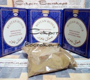 42 Хна пакистанская коричневая для волос с питающей пудрой розы дамасской SHABWAH 100гр