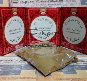 """2 Натуральная хна для волос йеменская традиционная коричневая Wadi Bana """"Вади Бана"""""""