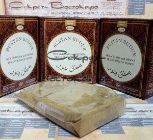 28 Хна йеменская медно-каштановая готовый рецепт с басмой и пудрой усьмы TAMRA