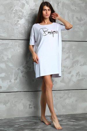 Платье 026021 - белый