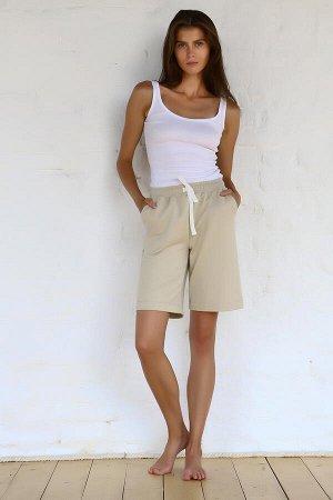 Бермуды 072071- бежевый