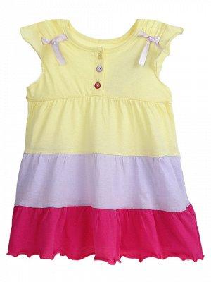 GDR02-010 платье детское, желтое