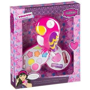 Подарочный набор для девочек Косметичка-попугай Bondibon EvaModa