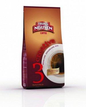 Кофе натуральный жареный молотый 250 гр. Creative № 3 Т.М. Чунг Нгуен