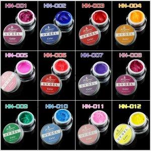 UV гель цветной