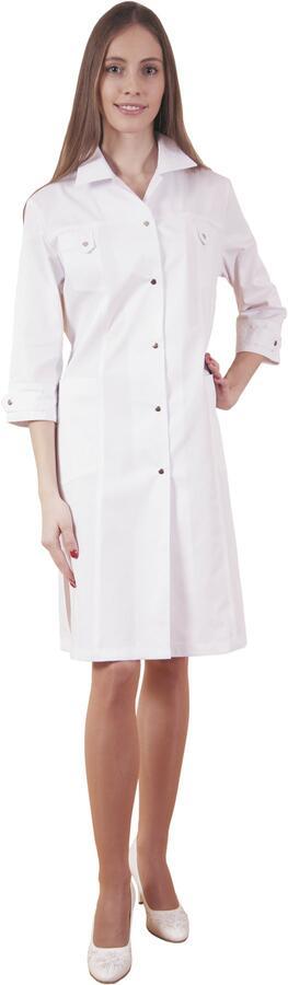Халат медицинский жен. М-020 ткань Элит-145