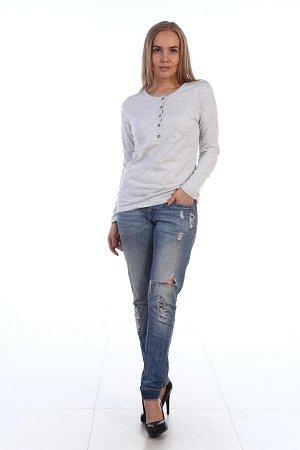 Лонгслив женский 5022-013 серый