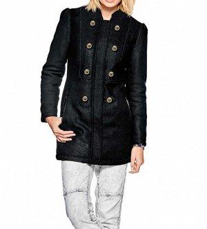 Пальто, черное