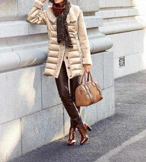 Пальто, бежевое