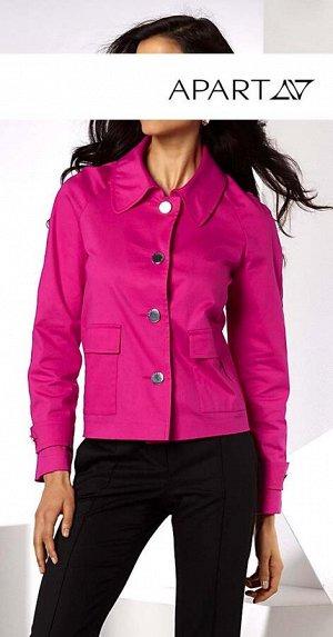 Жакет, ярко-розовый