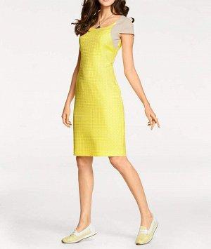Платье, желтое