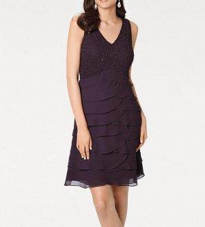 Платье, сливовое