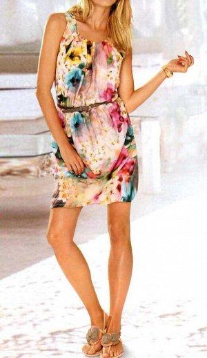 Платье, абрикосовое