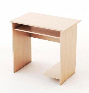 Стол компьютерный Малый (упрощённый) (1уп), Белёный дуб