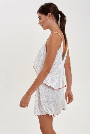 Платье пляжное жен. Arambol белый принт