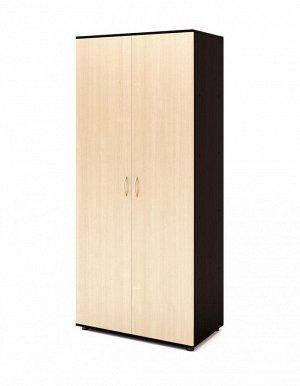 Горка №1 Шкаф №4 (1уп+ДВП), Венге/Белёный дуб (Венге/Белёный дуб)