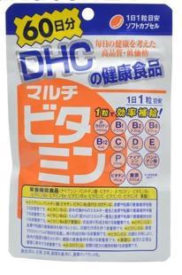 DHC мультивитамины (60 дней) 60 капсул /Япония/